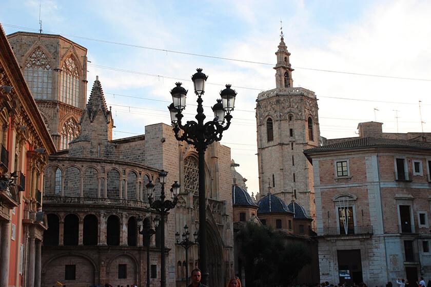 Campanile Miguelete di Valencia