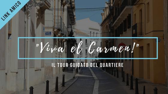 Tour guidato barrio carmen Valencia