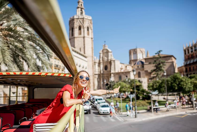 Bus turistico Valencia prezzi