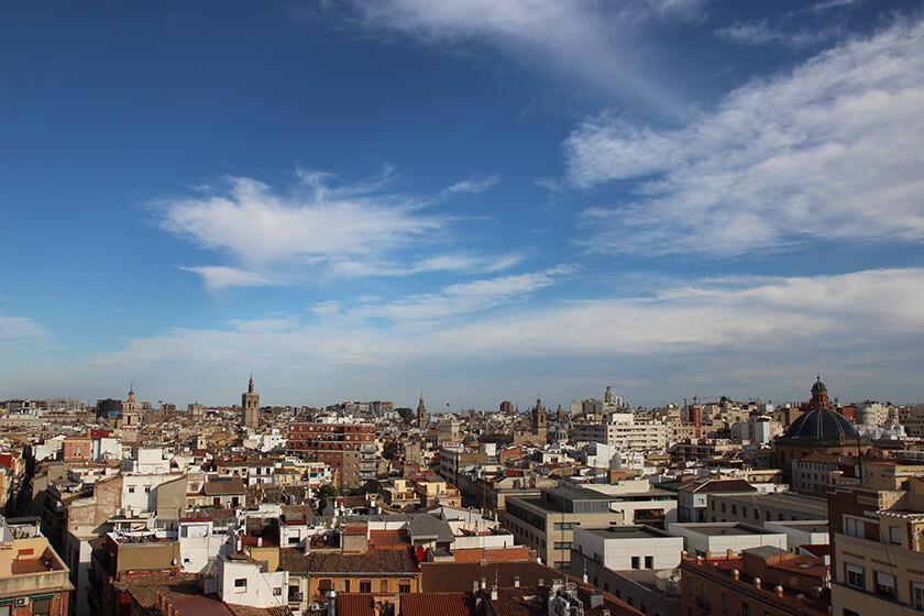 Punti panoramici a Valencia