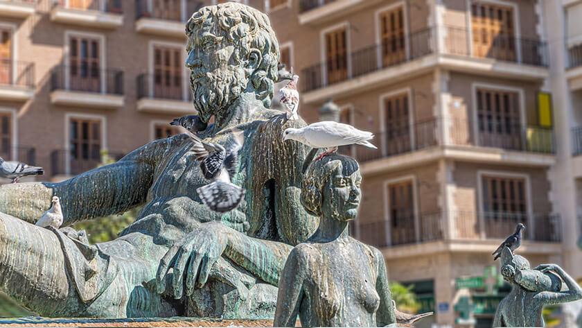 Fontana tribunal de las aguas Valencia