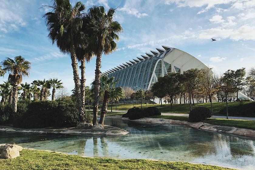 I giardini turia di Valencia