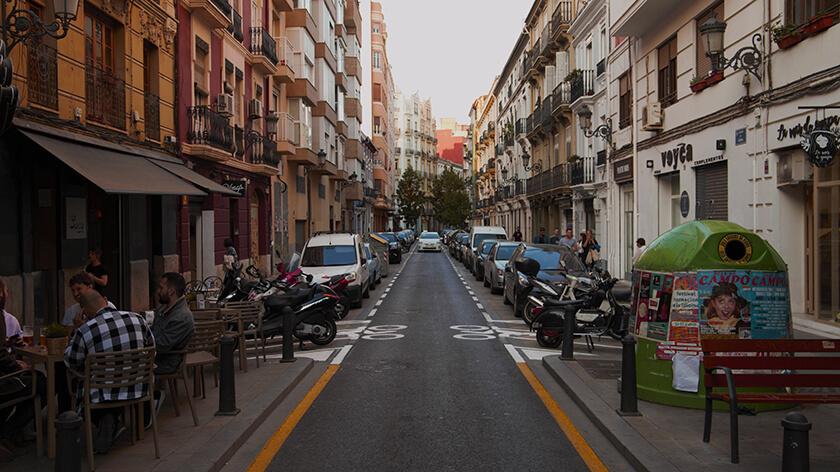 Barrio Russafa Valencia