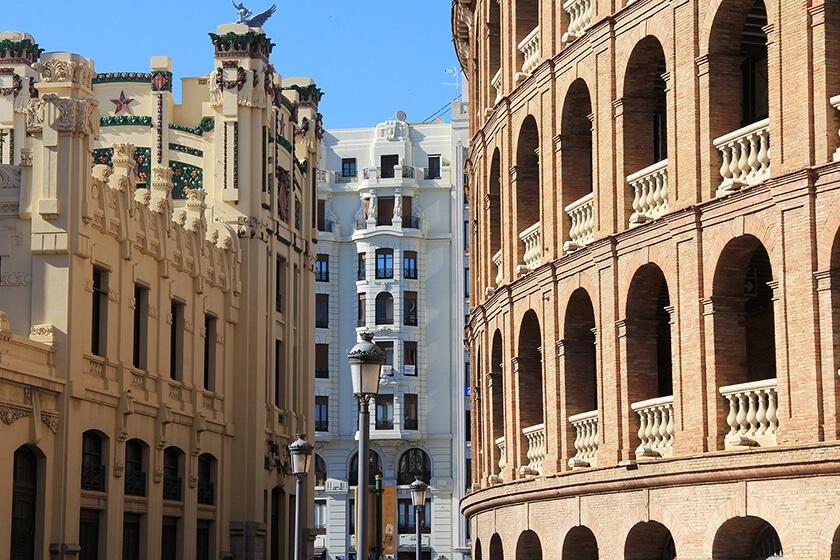 Plaza de toros Valencia visita